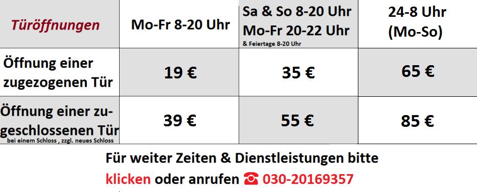 schlüsseldienstberlinpreise